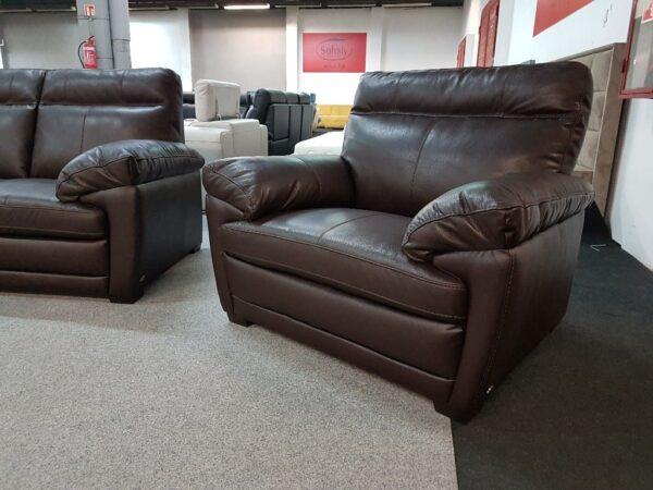 Bőr fotel - Softaly U 074