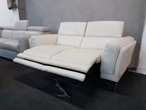 Bőr relax kanapé