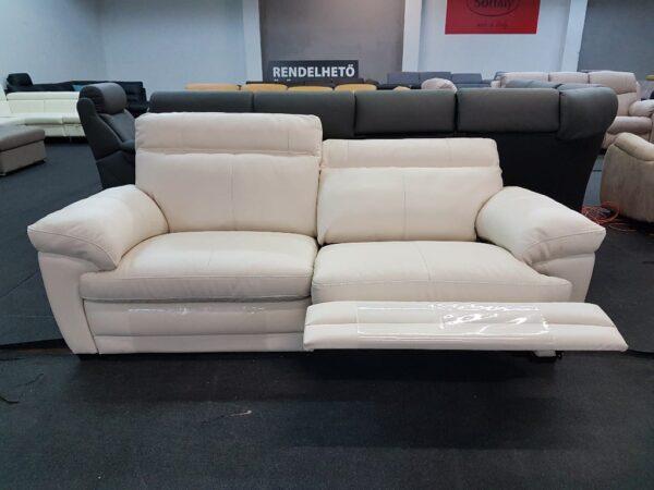 Relax funkciós bőr kanapé - Softaly U 074