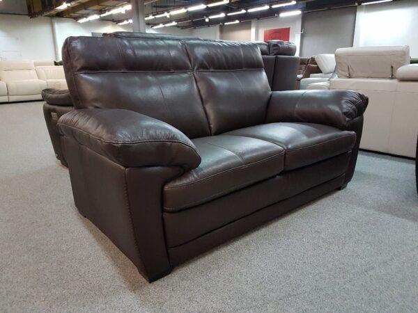 Softaly U 074 valódi bőr kanapé