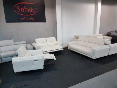 3-2-1 bőr kanapé