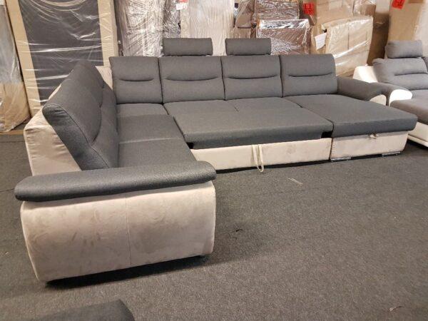 Ágyazható ülőgarnitúra - Grande U ülőgarnitúra