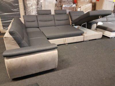 Ágyneműtartós, ágyazható ülőgarnitúra GRANDE