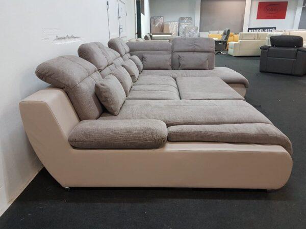 Ágyazható ülőgarnitúra - STAR U kanapé (Multi)