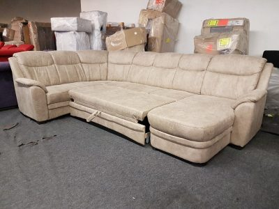 Ágyazható ülőgarnitúra - TORINO U alakú kanapé