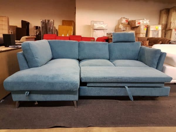 Ágyazható kanapé - LIFE sarok kanapé (Leoni)