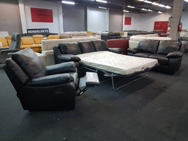 Ágyazható kanapé - Softaly 092 Bőr ülőgarnitúra