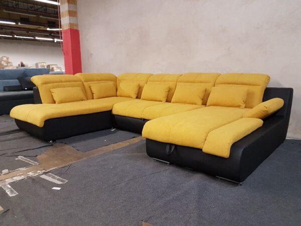 Ülőgarnitúra STAR U alakú kanapé - Multi