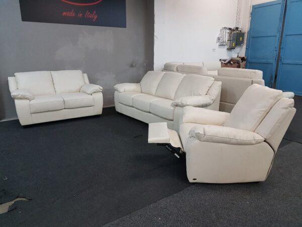 3-2-1 bőr kanapé - SOFTALY 092 Relax ülőgarnitúra