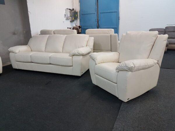 3-2-1 relax bőr ülőgarnitúra SOFTALY U 092