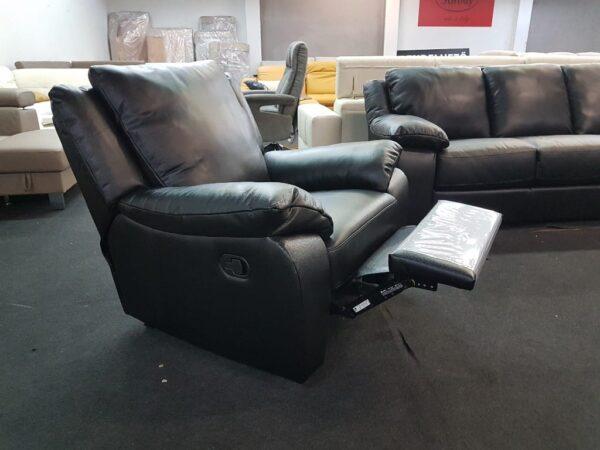 Relax fotel - Softaly U 092 bőr fotel