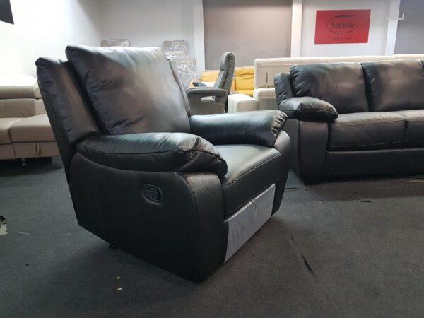 SOFTALY U 092 bőr fotel - relax