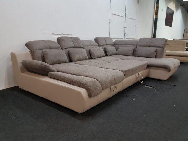 STAR ágyazható kanapé - U ülőgarnitúra (Multi)