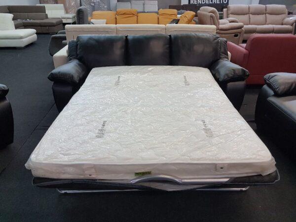 Softaly U 092 ágyazható bőr kanapé
