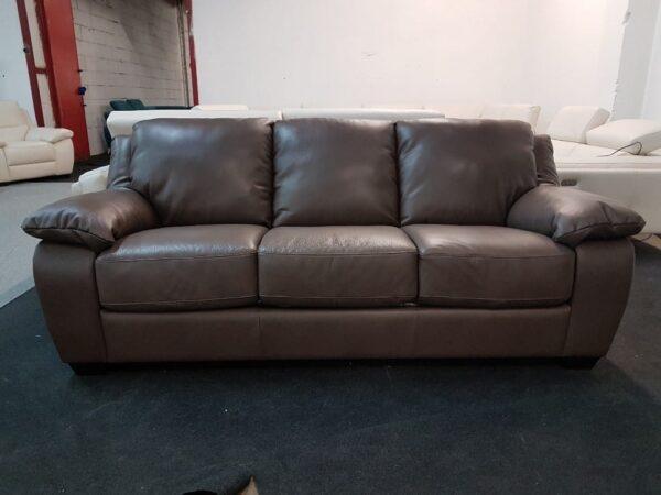3 személyes bőr kanapé SOFTALY U 092