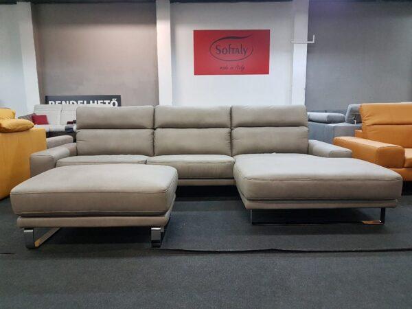 Bőr ülőgarnitúra - Kanizsa Trend Denver bőr kanapé