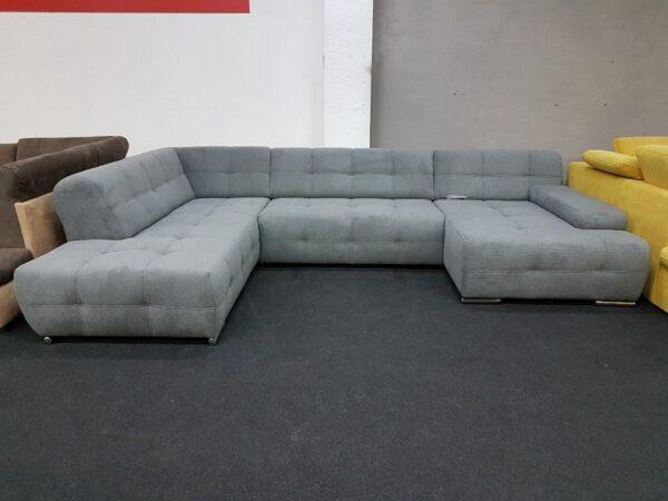 Boogie U kanapé (szürke)