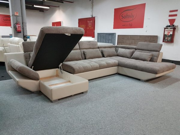Eternity U kanapé ágyazható + ágyneműtartós