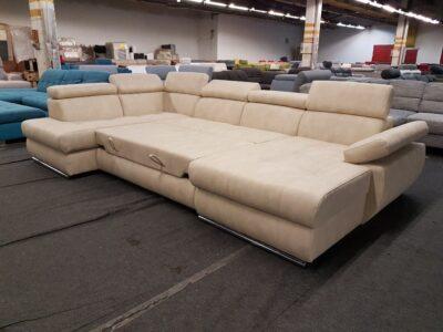 Hampton ágyazható ülőgarnitúra, U alakú kanapé