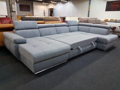 Hampton U alakú ágyazható ülőgarnitúra