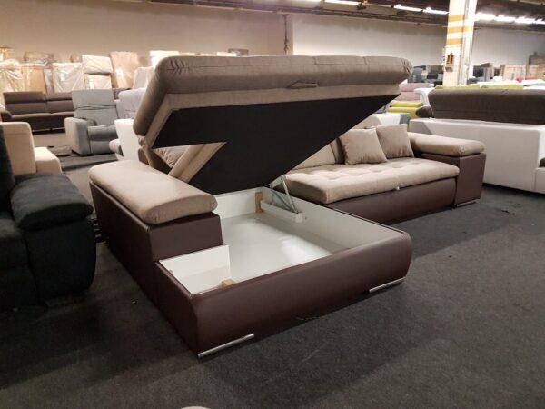 STYLE ágyneműtartós, ágyazható ülőgarnitúra