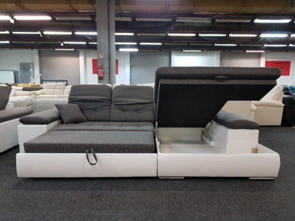 STYLE sarokkanapé - ágyazható, ágyneműtartós