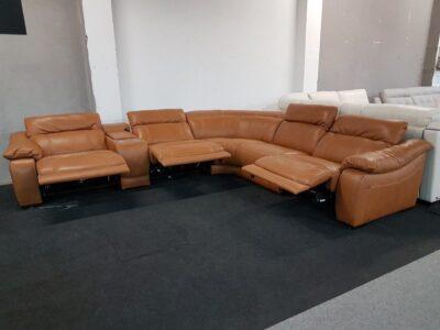 Bőr ülőgarnitúra Softaly 076 - Relax ülőgarnitúra