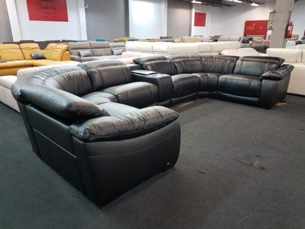 Bőr kanapé - Softaly 076 relax ülőgarnitúra