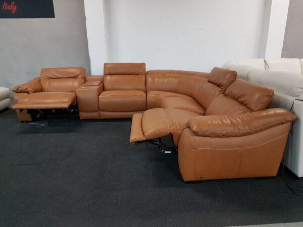 Bőr relax ülőgarnitúra Softaly 076