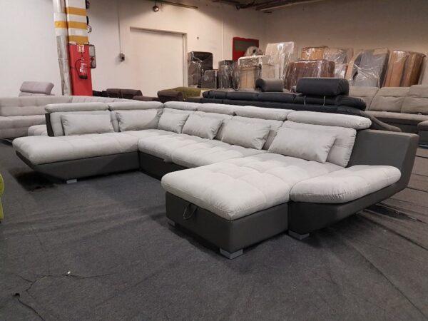Eternity U kanapé - U alakú ülőgarnitúra