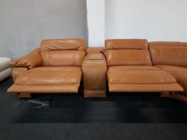 Softaly 076 bőr ülőgarnitúra relax funkcióval