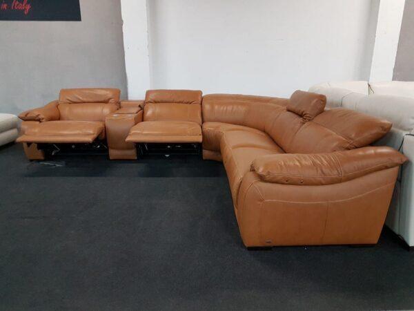 Softaly 076 relax bőr ülőgarnitúra (chau)