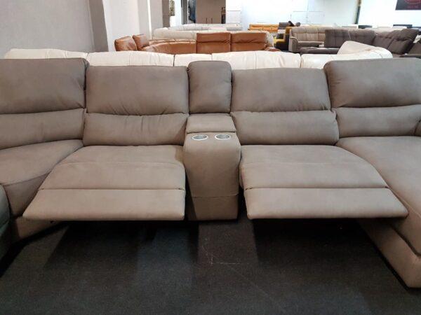 Softaly 214 U kanapé relax funkció, italtartó