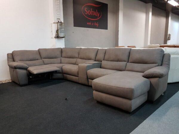 Softaly 214 relax ülőgarnitúra U alak