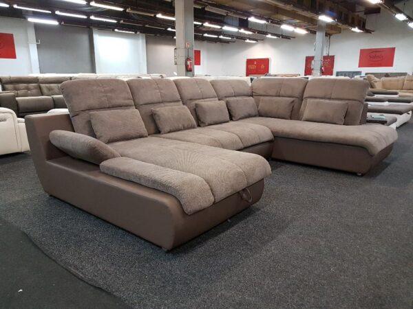 Star U forma ülőgarnitúra (barna) multi u kanapé