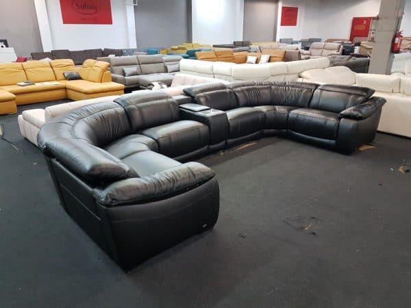 U alakú kanapé Softaly 076 relax ülőgarnitúra