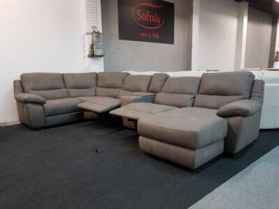U alakú kanapé Softaly 214 relax ülőgarnitúra