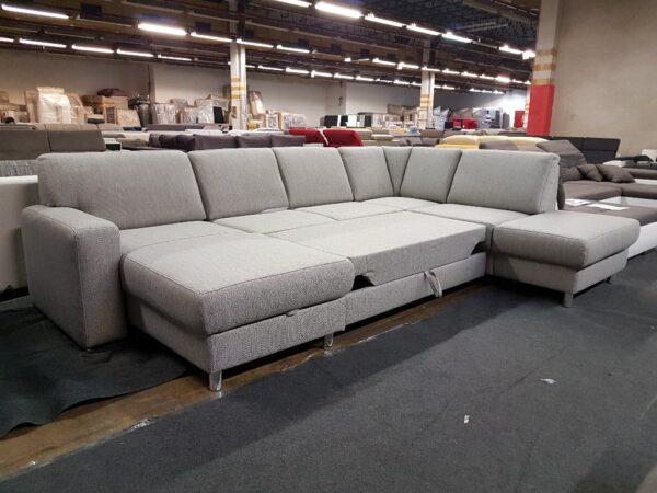 Ágyazható ülőgarnitúra - Madison U alakú kanapé