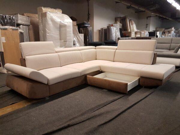 Ágyneműtartós, ágyazható ülőgarnitúra Corina