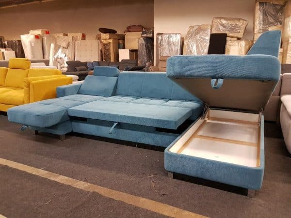 Alina 7433 ülőgarnitúra, U alakú kanapé