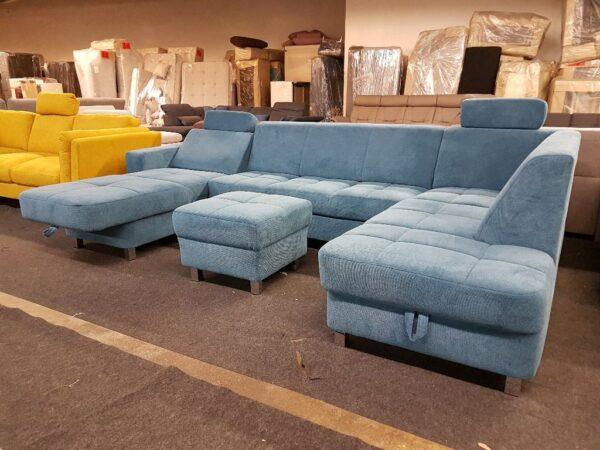 Alina 7433 U alakú relax ülőgarnitúra