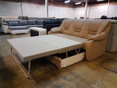 Bansin ágyazható bőr kanapé