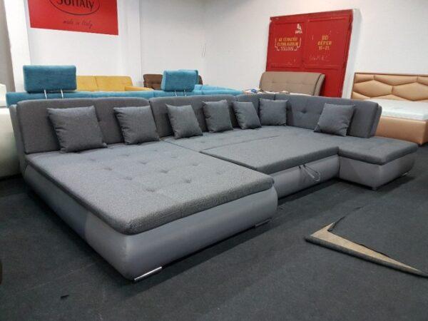 POOI ágyazható ülőgarnitúra akciós kanapé U alak