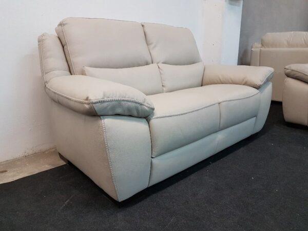 2 személyes bőr kanapé Softaly 214