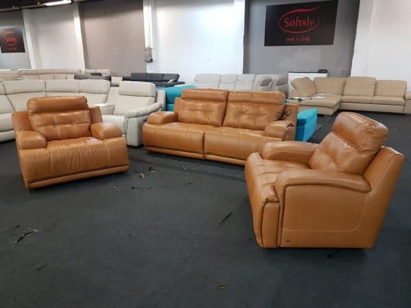 Softaly U 108 relax 3-1-1 bőr ülőgarnitúra 23