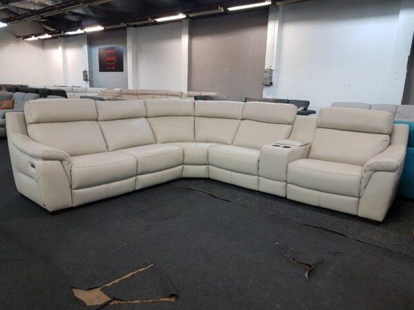 Softaly U 316 relax bőr ülőgarnitúra 3