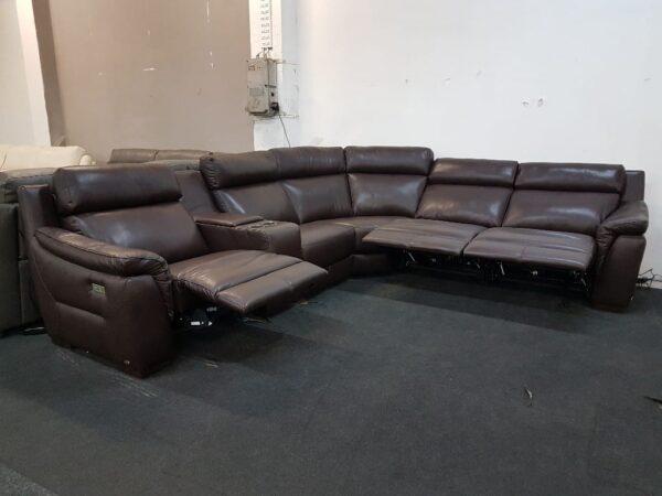 Bőr ülőgarnitúra - Softaly 316 relax ülőgarnitúra