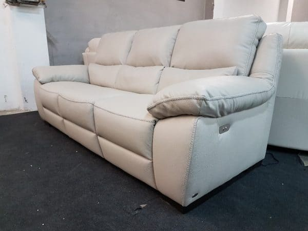 Bőr kanapé Softaly 214