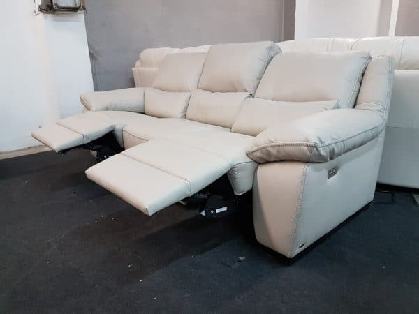 Bőr kanapé relax (Softaly 214)