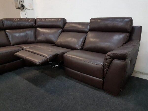 Bőr sarokülő relax - Softaly 316